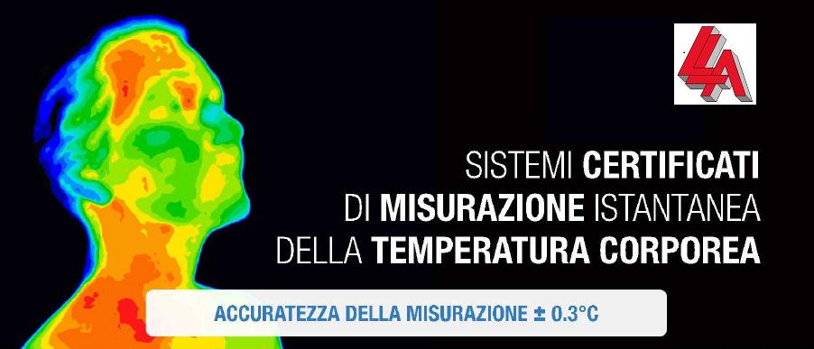 Sistema di misurazione istantanea della temperatura corporea